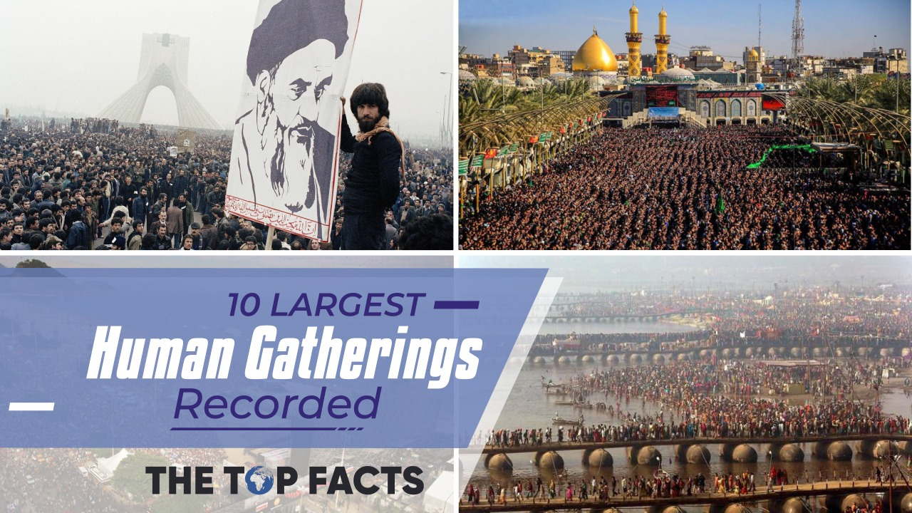 10 Largest Human Being Gatherings Recorded   The Top Facts